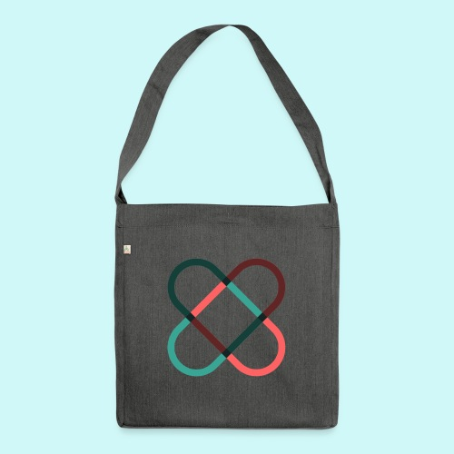 freehearts Logo - Schultertasche aus Recycling-Material