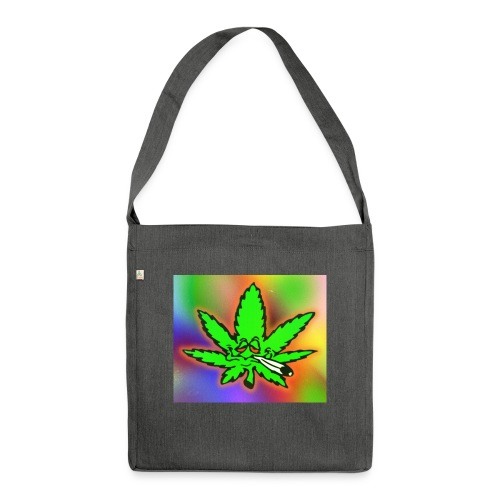 best weed - Olkalaukku kierrätysmateriaalista