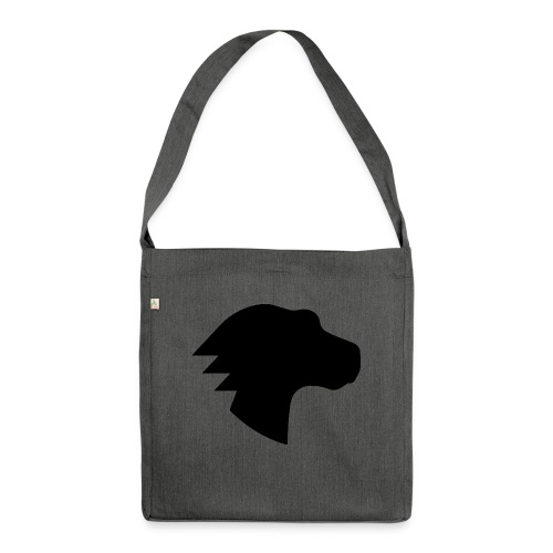 Dino Positive Logo - Shoulder Bag made from recycled material