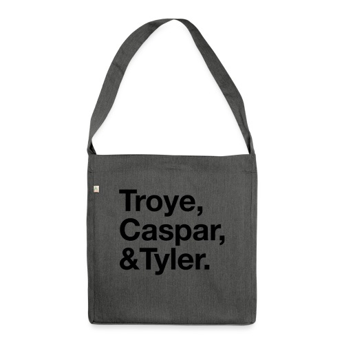 TROYE CASPAR AND TYLER - YOUTUBERS - Borsa in materiale riciclato