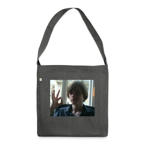 The official RetroPirate1 tshirt - Shoulder Bag made from recycled material