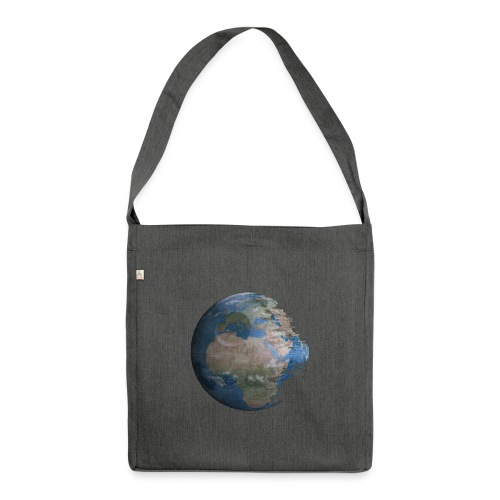 Death Earth - Sac bandoulière 100 % recyclé