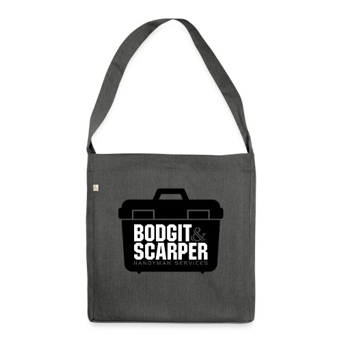 Bodgit & Scarper - Shoulder Bag made from recycled material