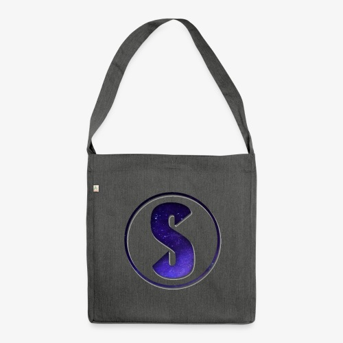 YouTube Logo von Salxphaa - Schultertasche aus Recycling-Material