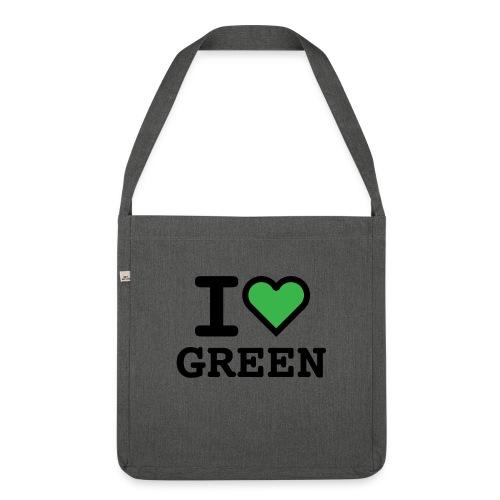 i-love-green-2.png - Borsa in materiale riciclato