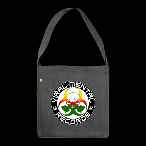 Viral Mental Records Logo - Shoulder Bag made from recycled material