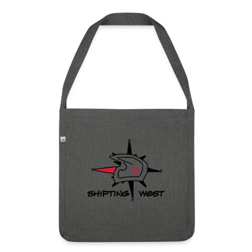 Shifting West Logo vector - Schoudertas van gerecycled materiaal