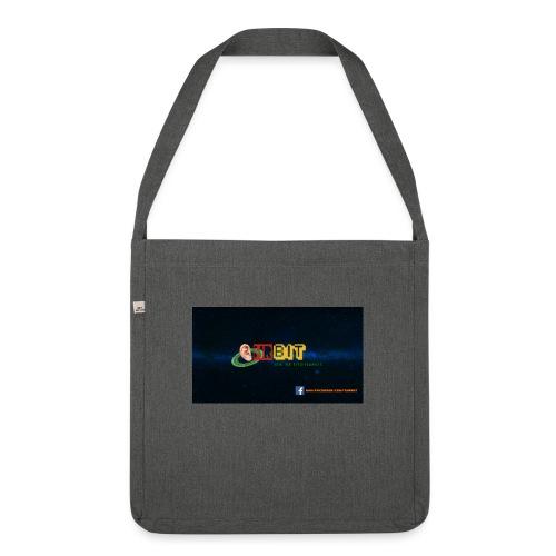 OhrBit Logo - Schultertasche aus Recycling-Material