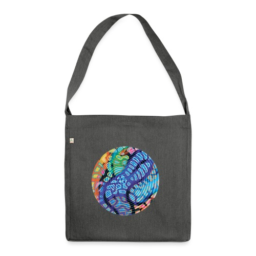 concentric - Shoulder Bag made from recycled material