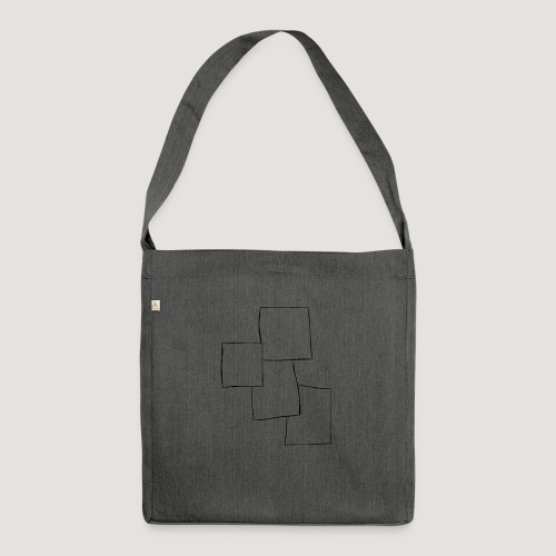 4 Squares - Skulderveske av resirkulert materiale