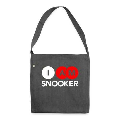 I AM SNOOKER - Shoulder Bag made from recycled material