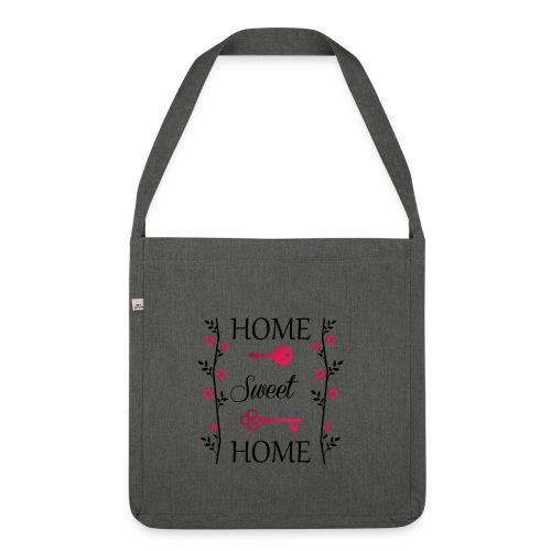 Home Sweet Home - Borsa in materiale riciclato