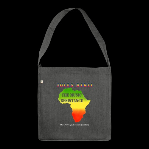 JULES BENJI & MUSIC RESISTANCE africa design - Shoulder Bag made from recycled material