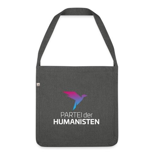 Statement Logo - Schultertasche aus Recycling-Material