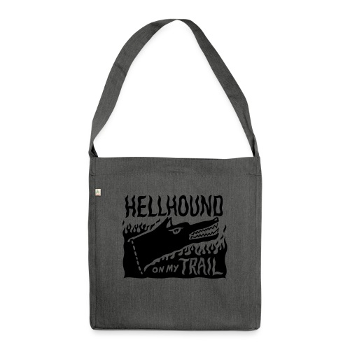 Hellhound on my trail - Shoulder Bag made from recycled material