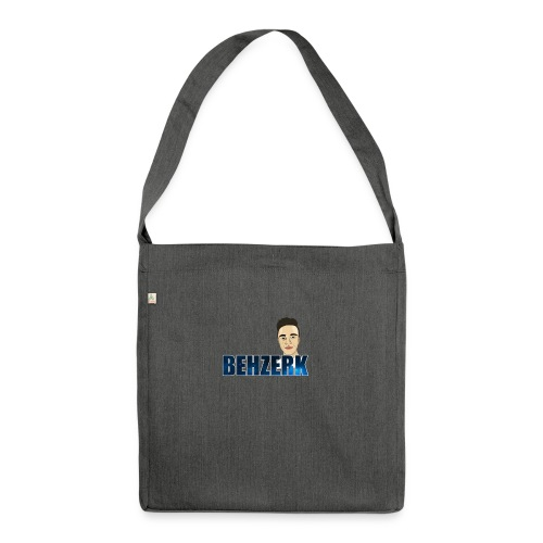 TEE DESIGN 2 png - Shoulder Bag made from recycled material