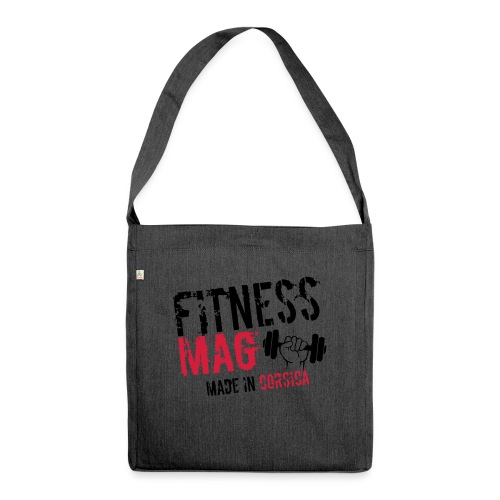 Fitness Mag made in corsica 100% Polyester - Sac bandoulière 100 % recyclé