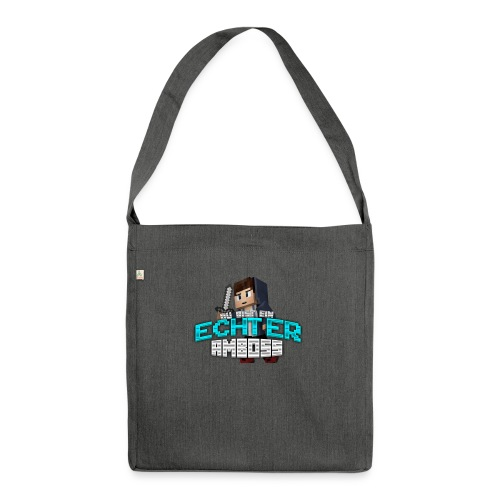 Echter Amboss! - Shoulder Bag made from recycled material