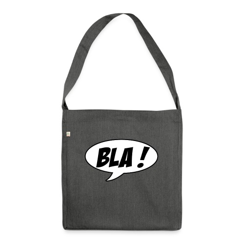 Bla - Shoulder Bag made from recycled material