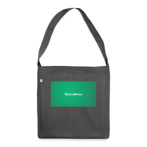 backgrounder - Schultertasche aus Recycling-Material