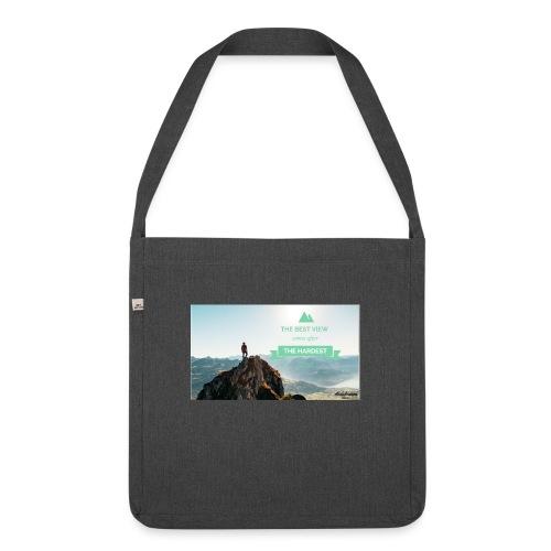 fbdjfgjf - Shoulder Bag made from recycled material