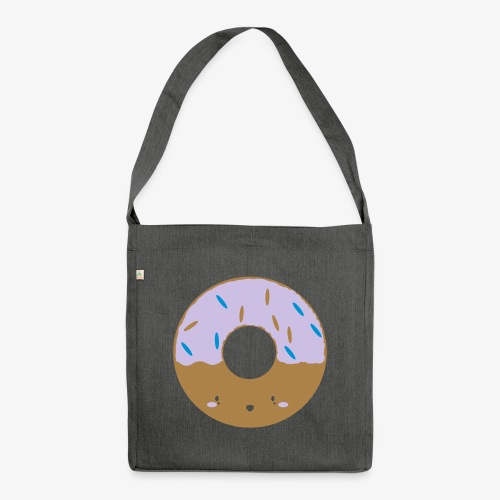 Icing Donut - Shoulder Bag made from recycled material