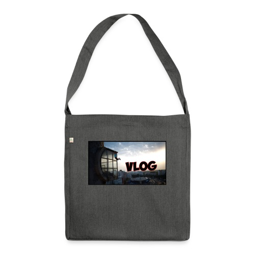 Vlog - Shoulder Bag made from recycled material