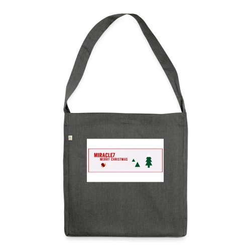 Christmas Exclusive - Shoulder Bag made from recycled material