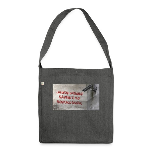 Nothing to Fear - Shoulder Bag made from recycled material