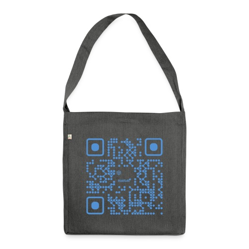 QR Maidsafe.net - Shoulder Bag made from recycled material