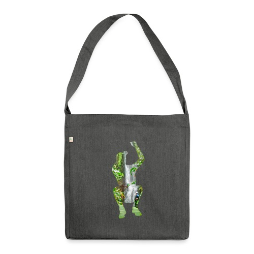 Jump into Adventure - Schultertasche aus Recycling-Material