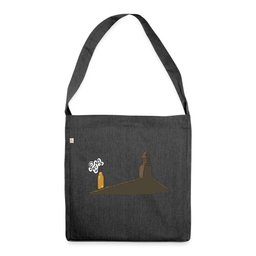 Habemus Beer Hoodies - Schultertasche aus Recycling-Material