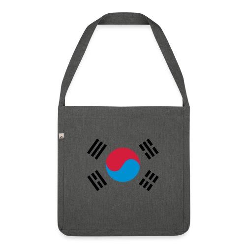 South Korea - Schoudertas van gerecycled materiaal