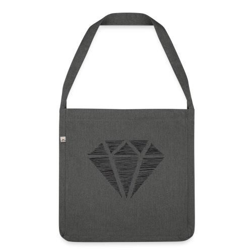 Diamante - Bandolera de material reciclado