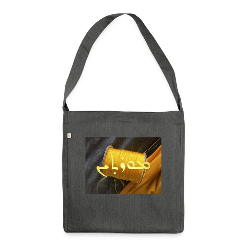 Mortinus Morten Golden Yellow - Shoulder Bag made from recycled material