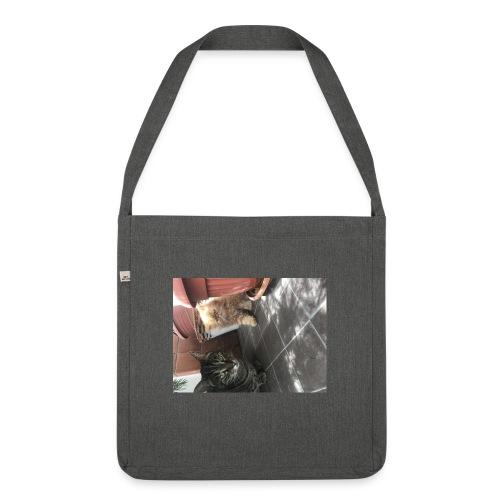 I gatti - Borsa in materiale riciclato