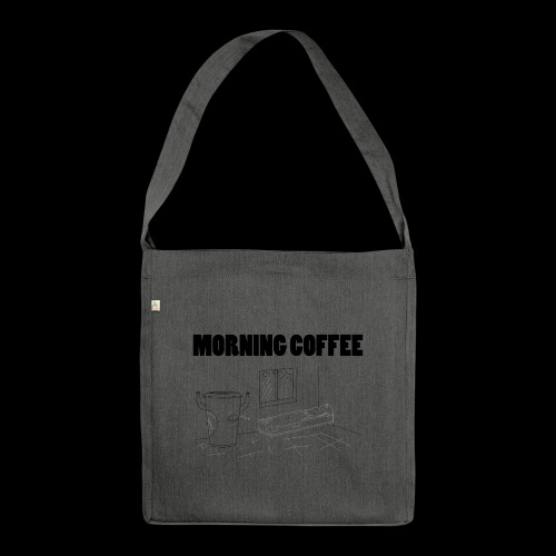 Morning Coffee - Shoulder Bag made from recycled material