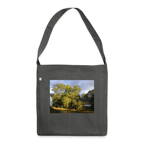 Trees - Shoulder Bag made from recycled material