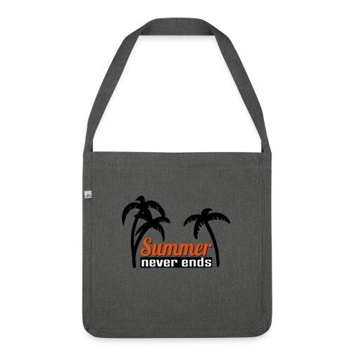 summer never end - Schultertasche aus Recycling-Material