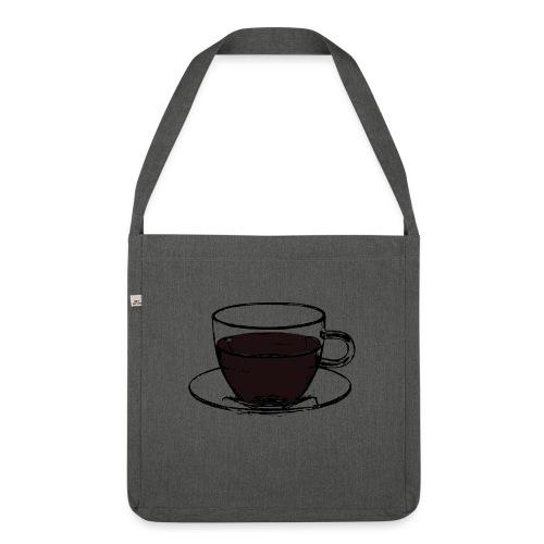 cofee cup - Borsa in materiale riciclato