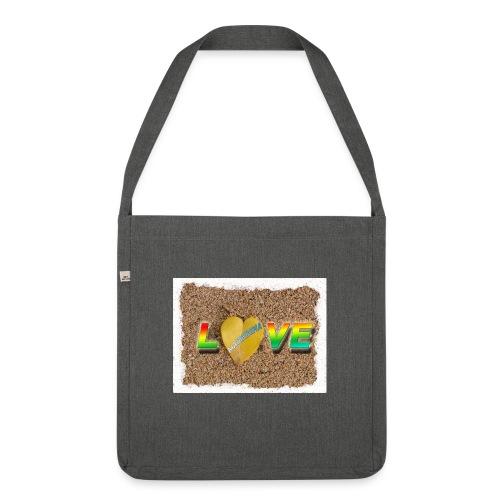 love,madinina - Sac bandoulière 100 % recyclé