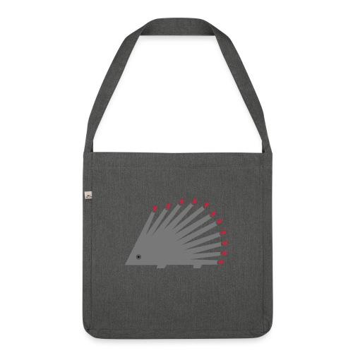Hedgehog - Shoulder Bag made from recycled material