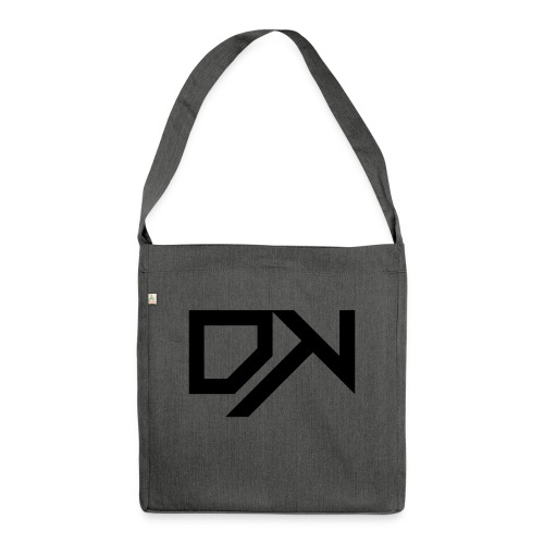 DewKee Logo Samung Galaxy S4 Case Black - Shoulder Bag made from recycled material
