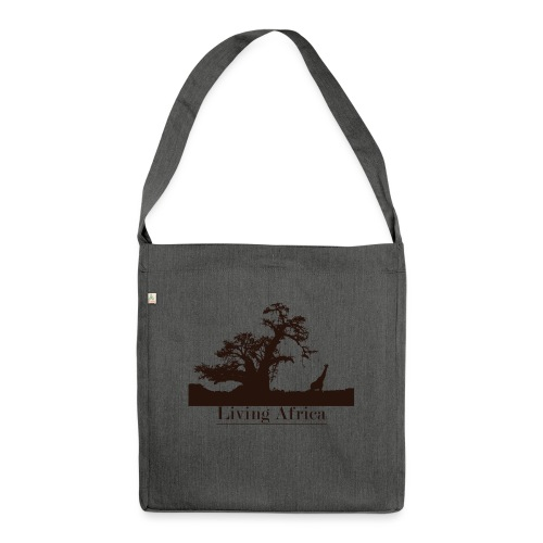 Ultimate_Living_Africa-png - Borsa in materiale riciclato