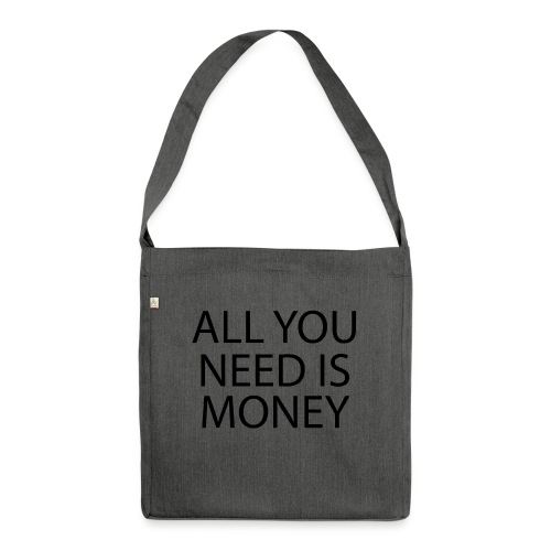 All you need is Money - Skulderveske av resirkulert materiale