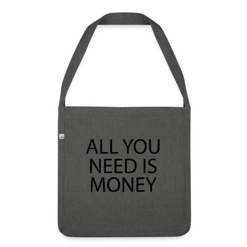 All you need is Money - Skulderveske av resirkulert materiale