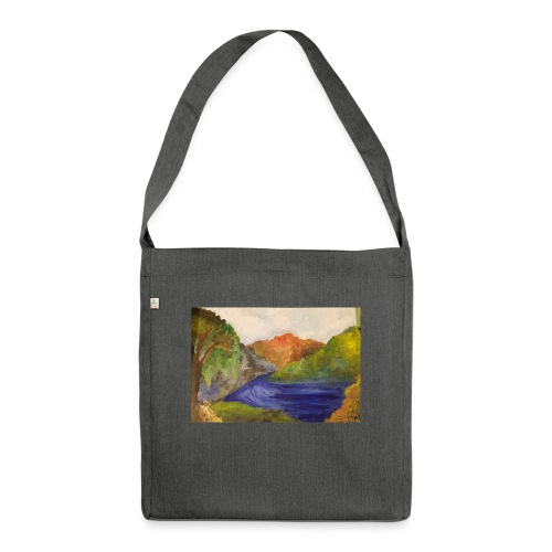 flo 1 - Shoulder Bag made from recycled material
