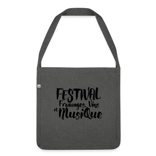 Festival FVM - Sac bandoulière 100 % recyclé