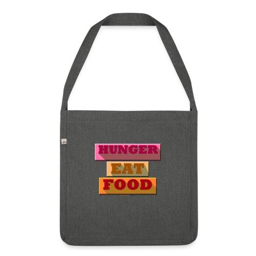 Hunger TShirt - Sac bandoulière 100 % recyclé