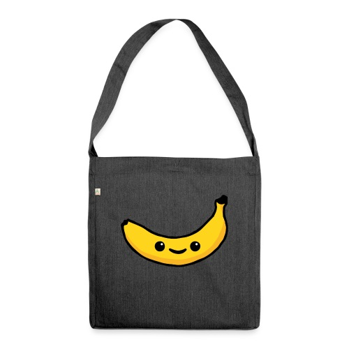 Alles Banane! - Schultertasche aus Recycling-Material